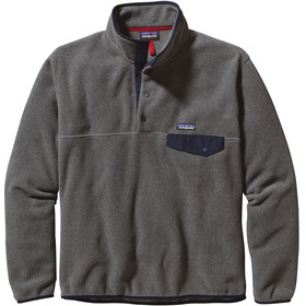 Patagonia M's Synchilla Snap-T P/O Lightweight Sweater Nickel w/Navy Blue